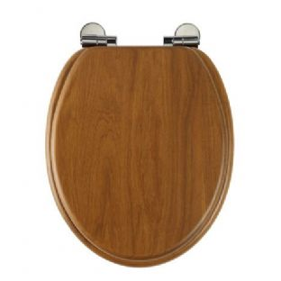 Roper Rhodes - Traditional Soft Close Toilet Seat (Honey Oak) - 8081HOSC